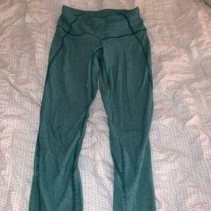 Lulu lemon green full length leggings